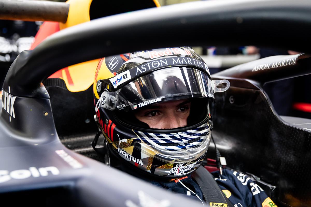 F1 ダニエル・ティクトゥム レッドブル・ホンダ