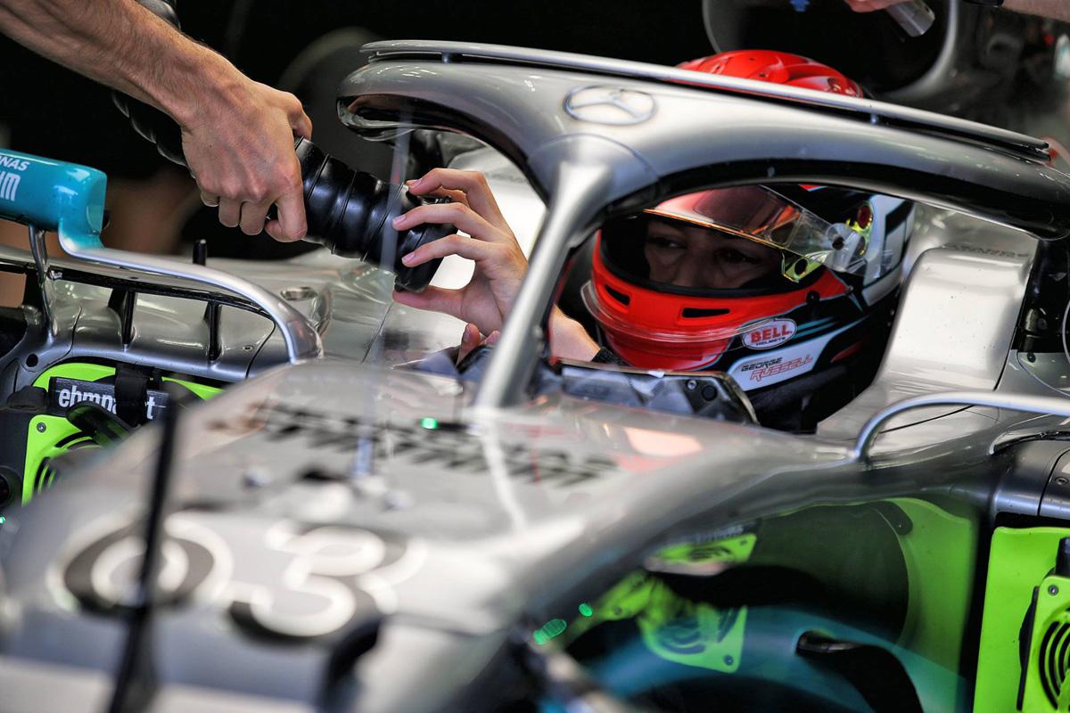 F1 ジョージ・ラッセル メルセデス