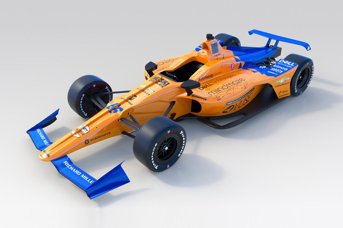 F1 マクラーレン フェルナンド・アロンソ インディ500