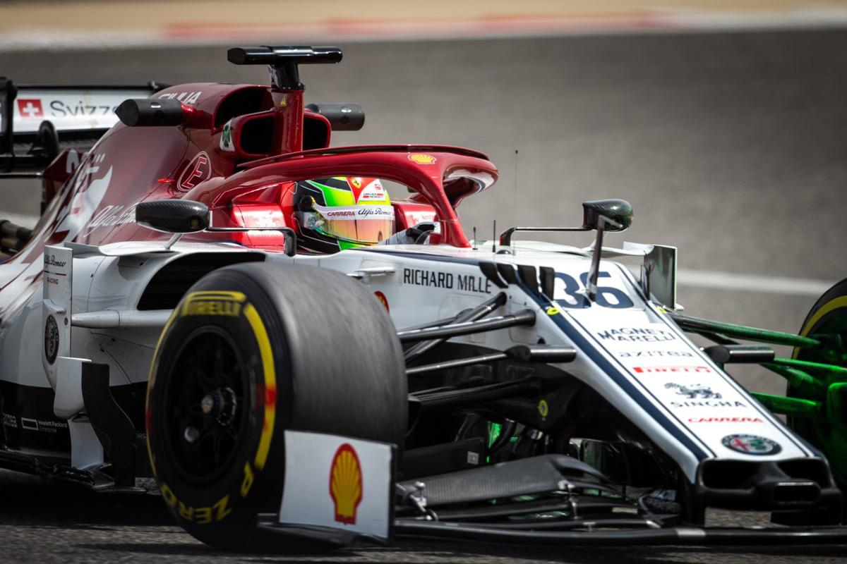 F1 ミック・シューマッハ