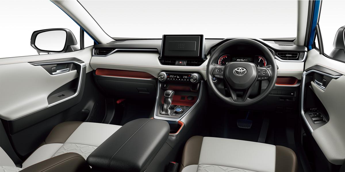 トヨタ 新型RAV4 インテリア