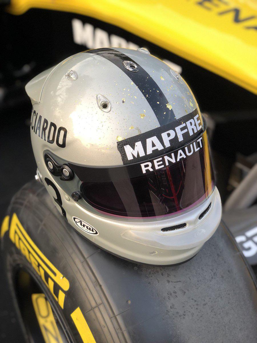 F1 ダニエル・リカルド 中国GP ヘルメット