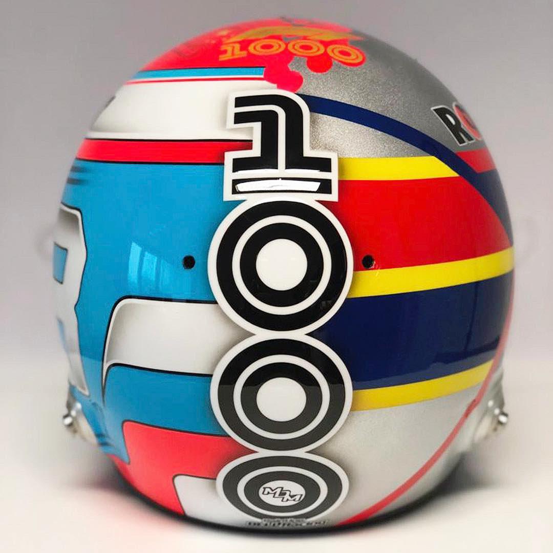 ジョージ・ラッセル ヘルメット 2019年 F1中国GP ③