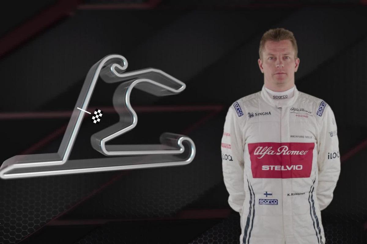 F1 キミ・ライコネン 上海インターナショナルサーキット