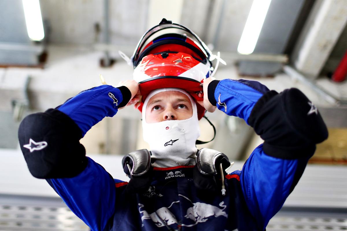 F1 ダニール・クビアト ホンダF1 トロロッソ・ホンダ