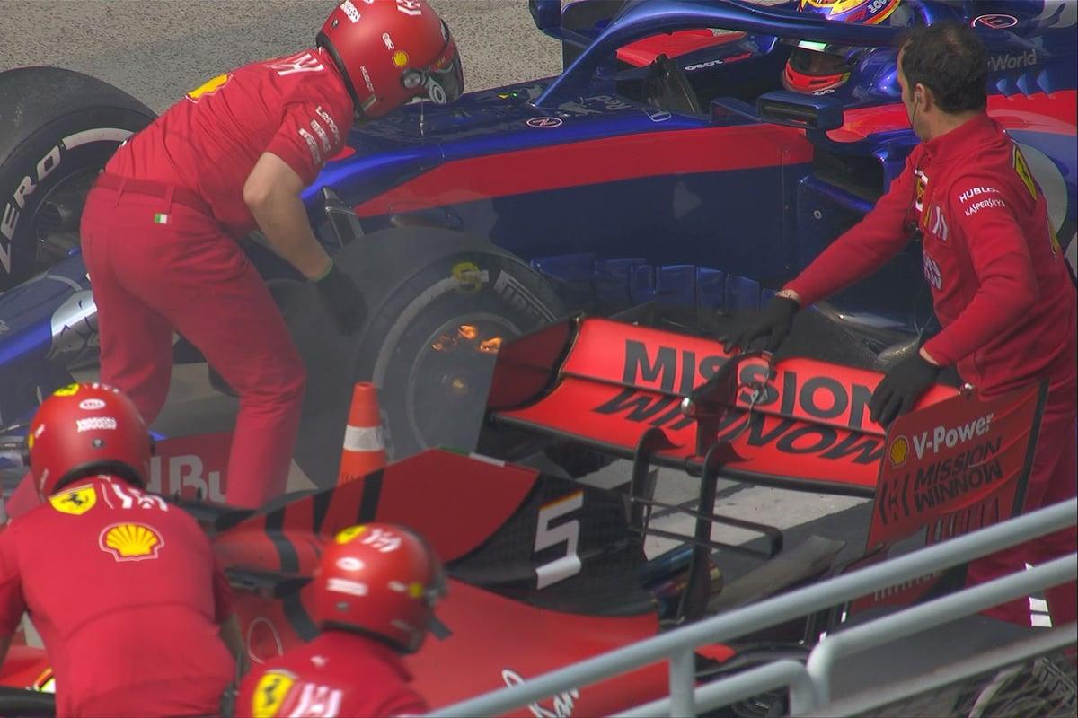 F1 中国GP フェラーリ アレクサンダー・アルボン