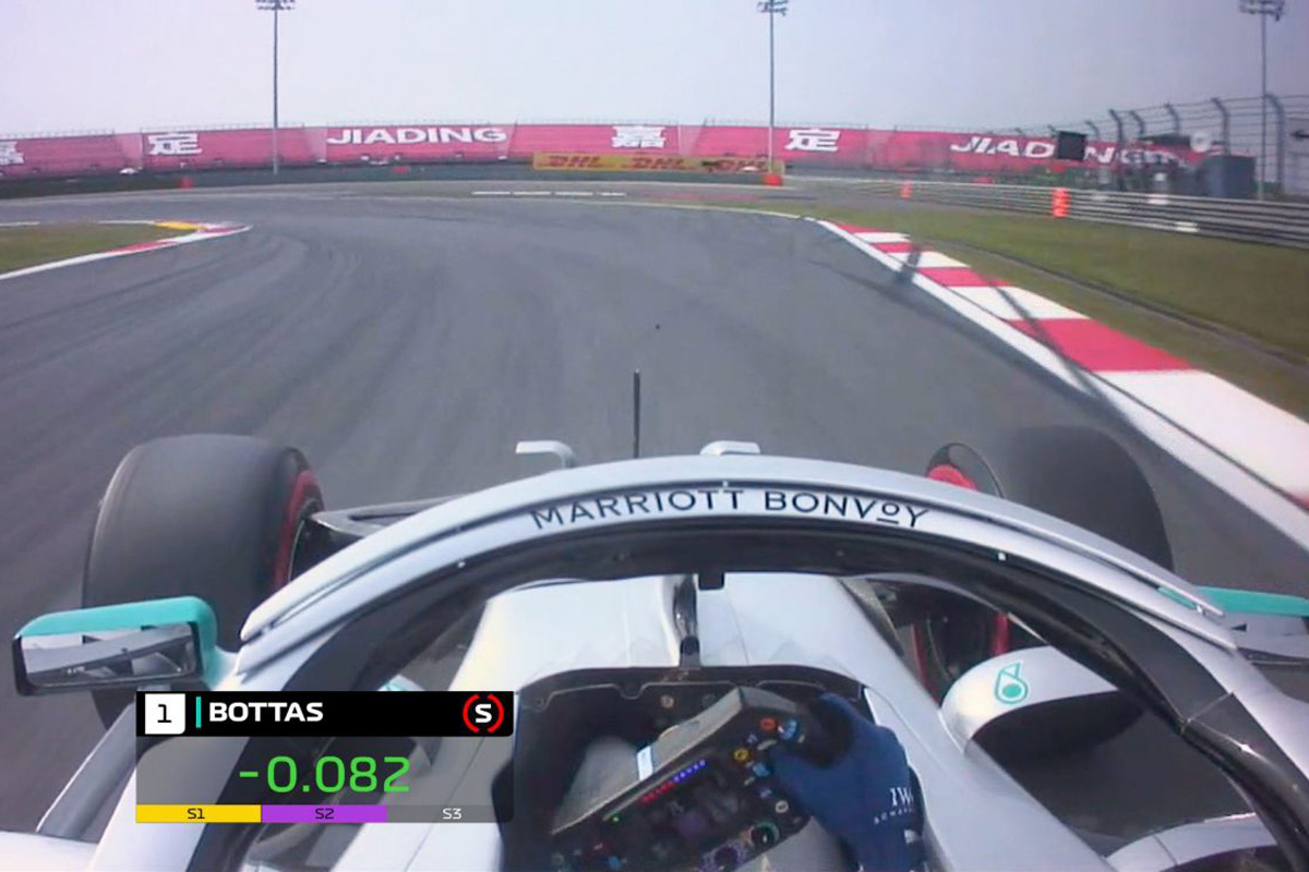 F1 バルテリ・ボッタス 中国GP