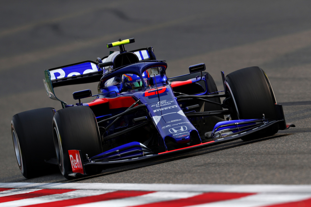 F1 Toro Rosso Honda China Grand Prix