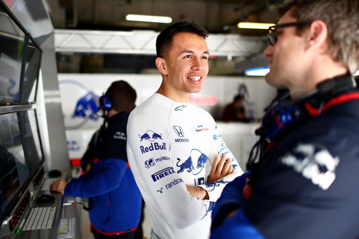 F1 アレクサンダー・アルボン トロロッソ・ホンダ