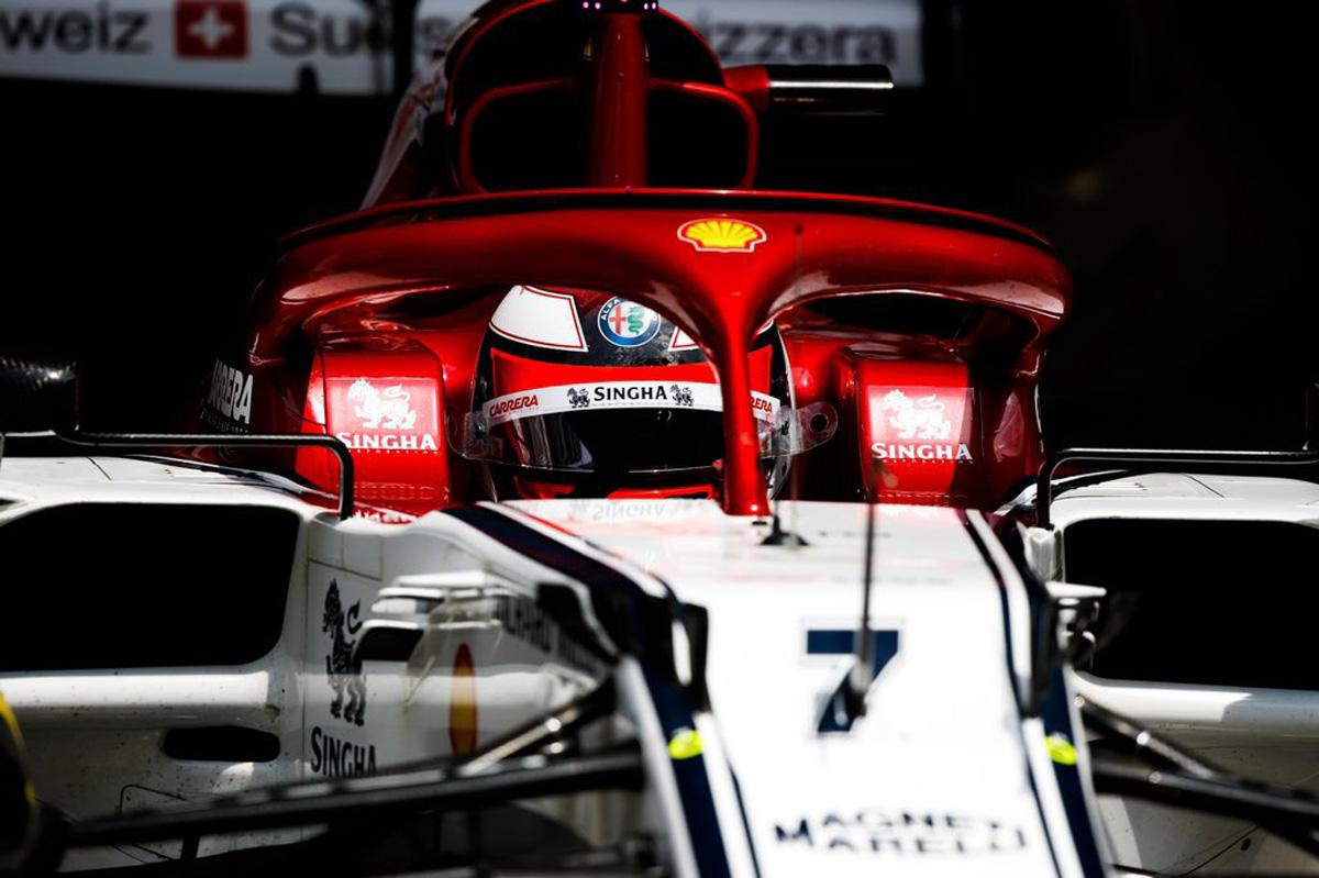 F1 アルファロメオ キミ・ライコネン