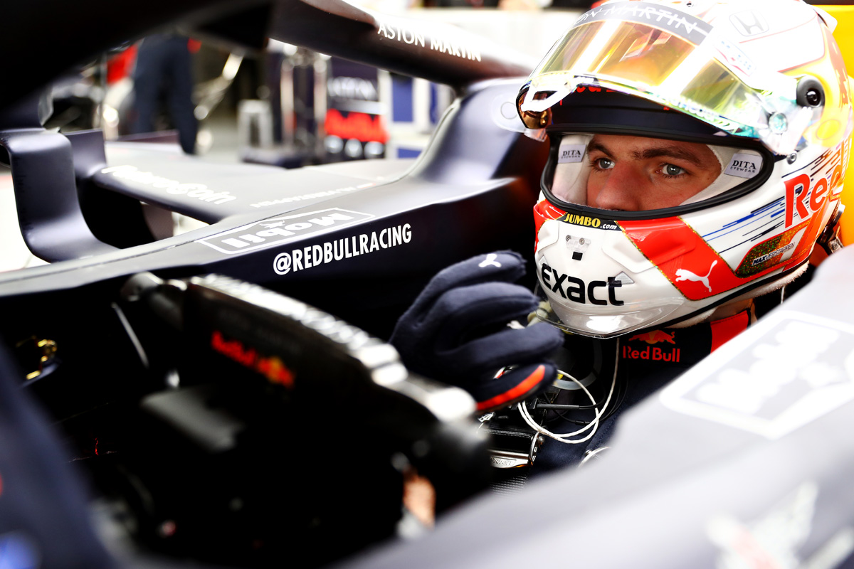 F1 マックス・フェルスタッペン レッドブル・ホンダ
