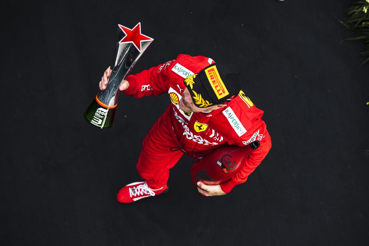 F1 セバスチャン・ベッテル フェラーリ