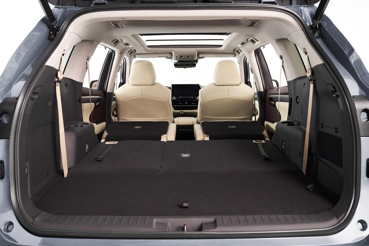 トヨタ 新型ハイランダー:広くて使いやすい室内空間②