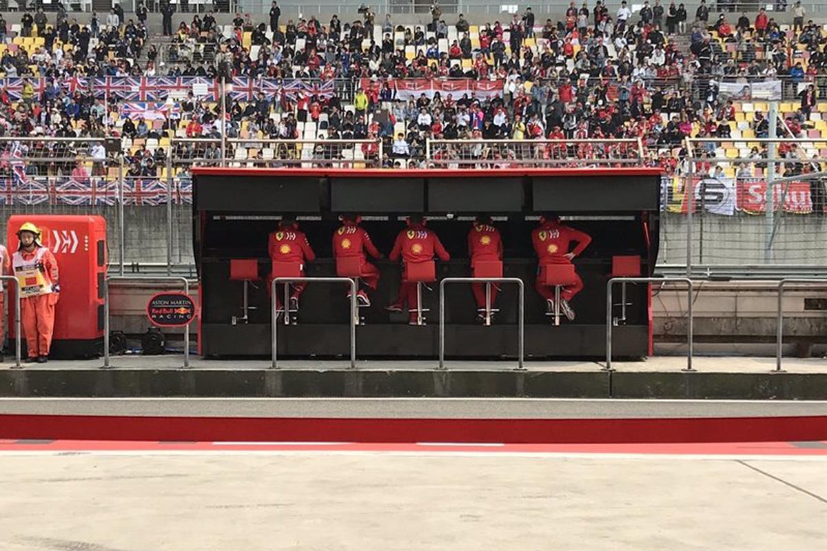 F1 フェラーリ チームオーダー
