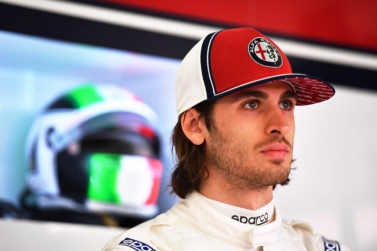 F1 アルファロメオ・レーシング アントニオ・ジョビナッツィ