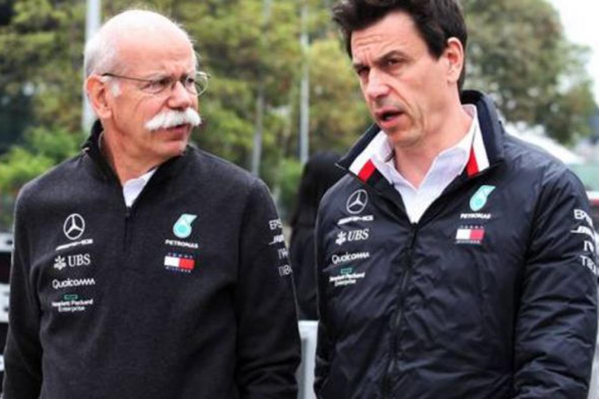 メルセデスAMG F1 フォーミュラE