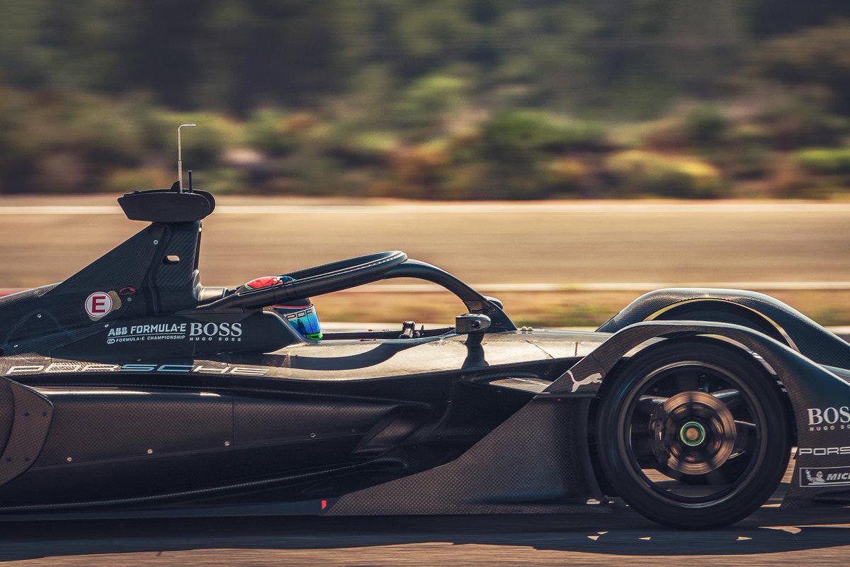 F1 ブレンドン・ハートレー フォーミュラE
