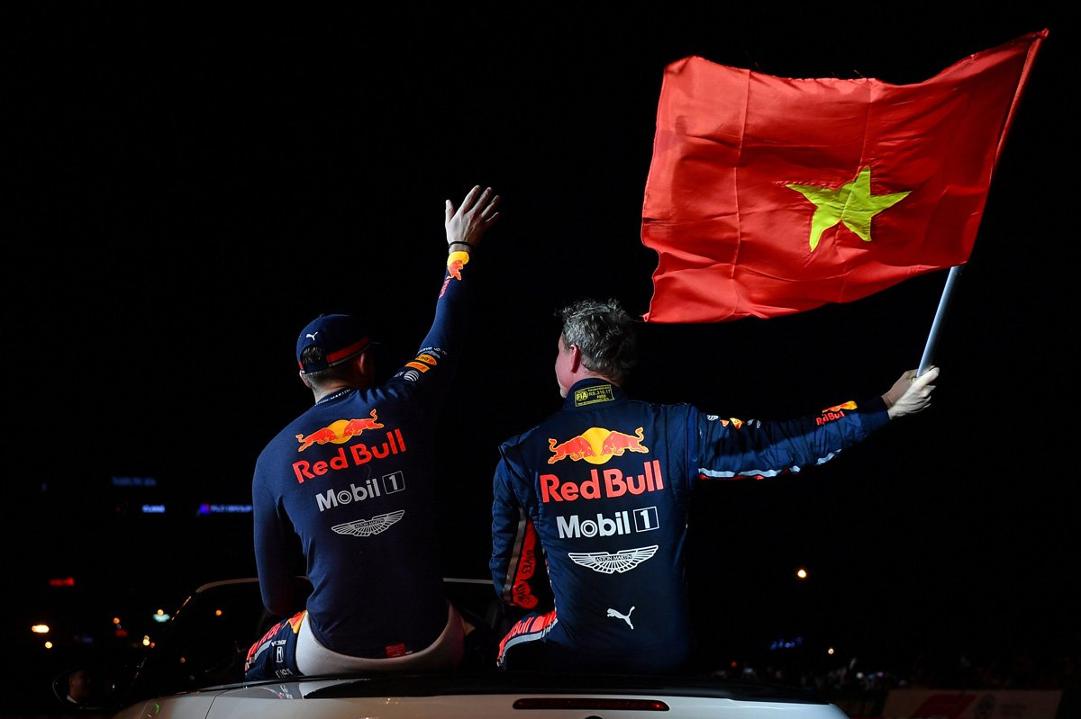 Red Bull Racing Show Run Hanoi