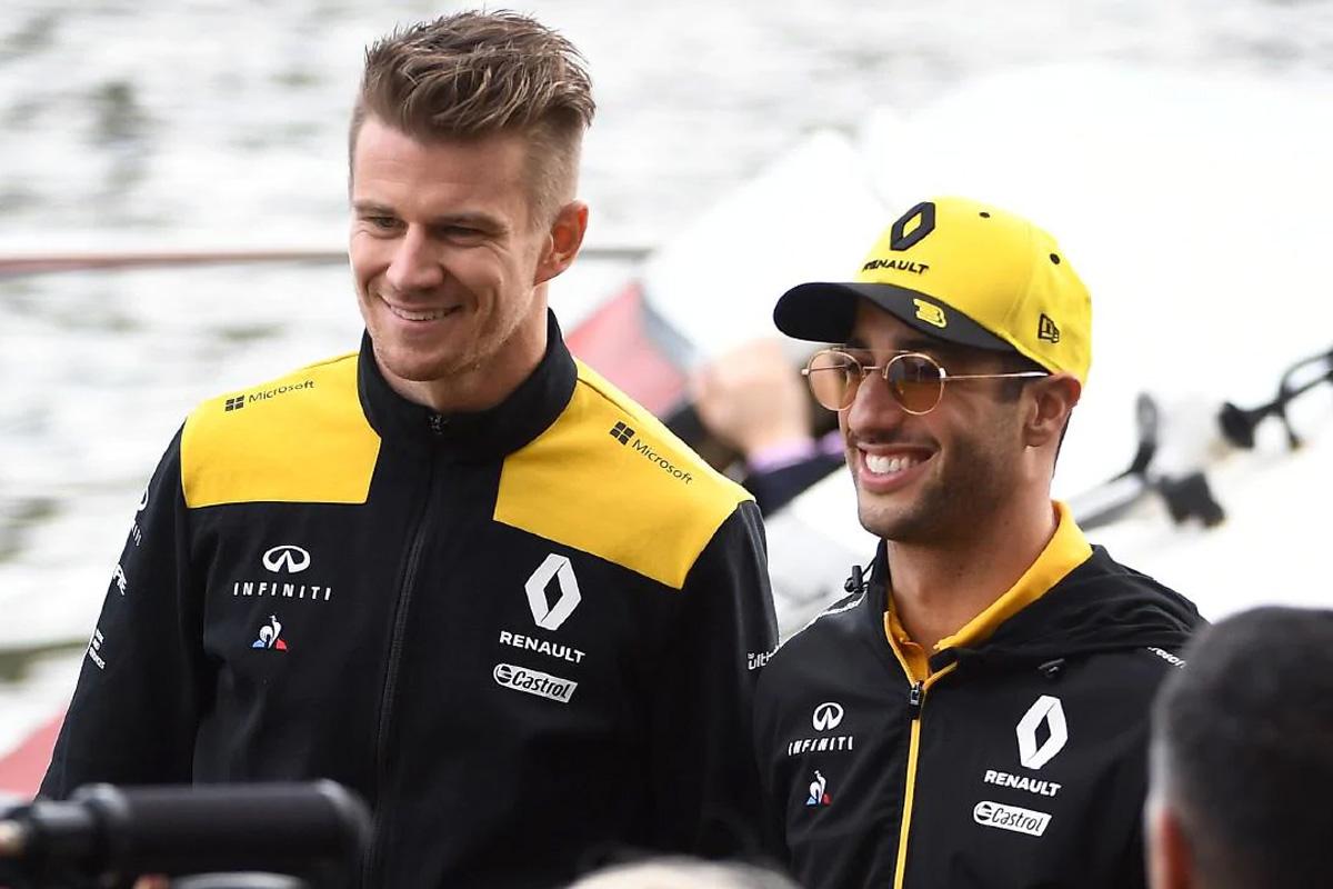 F1 ニコ・ヒュルケンベルグ ダニエル・リカルド