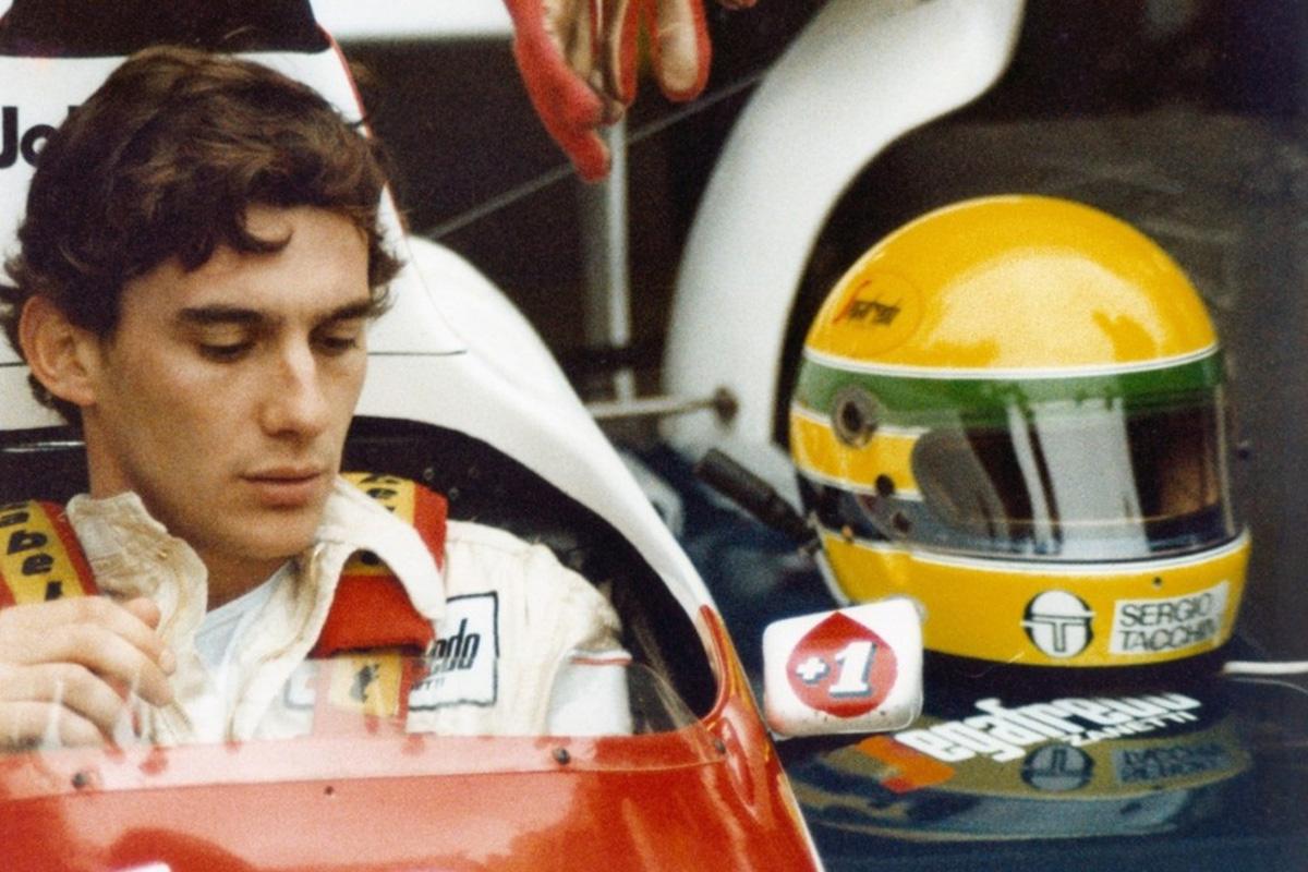 F1 アラン・プロスト アイルトン・セナ