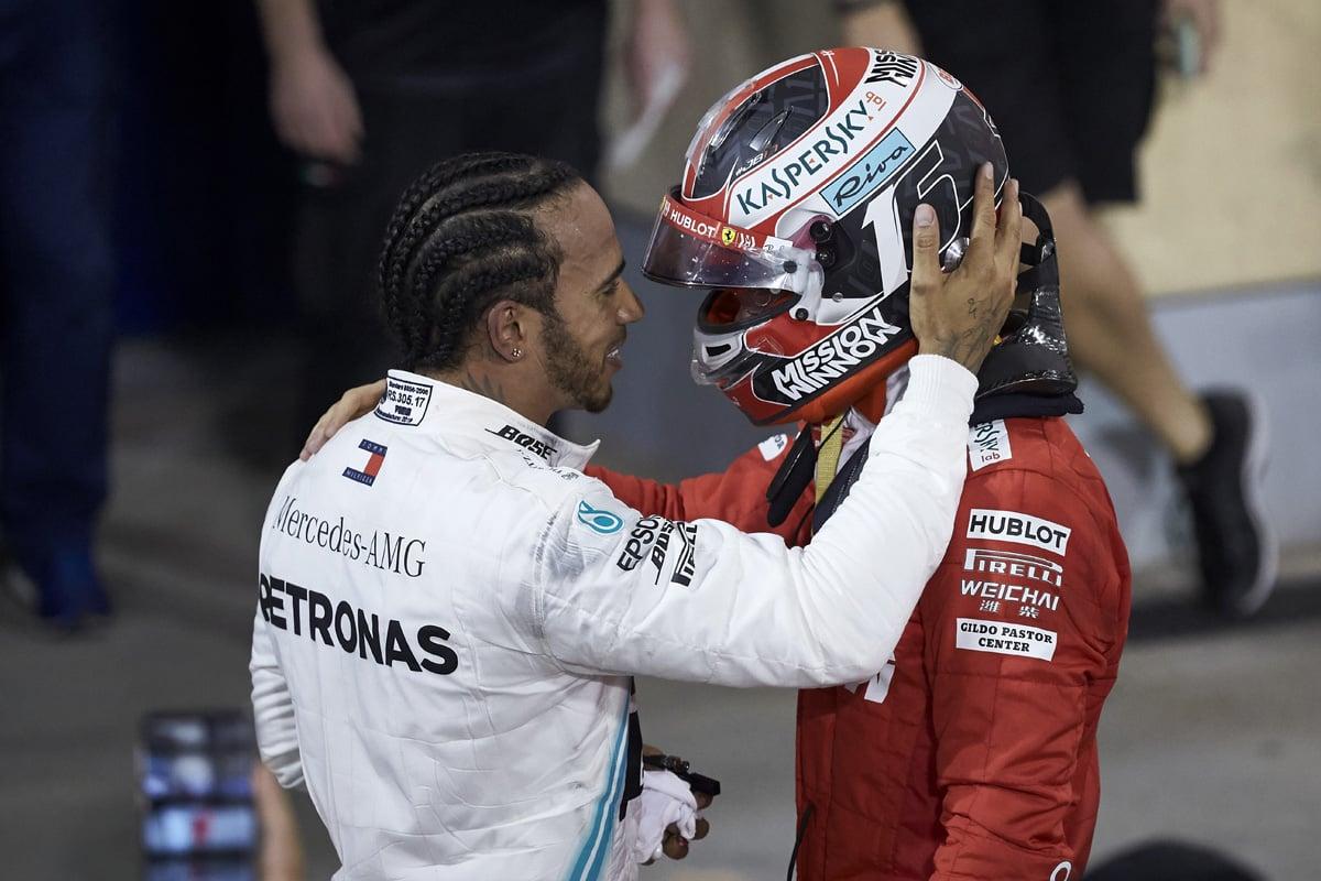 F1 ルイス・ハミルトン シャルル・ルクレール