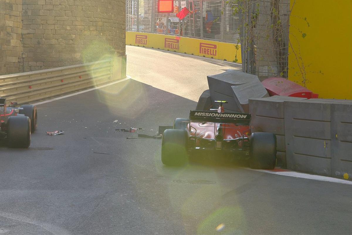 F1 アゼルバイジャンGP シャルル・ルクレール