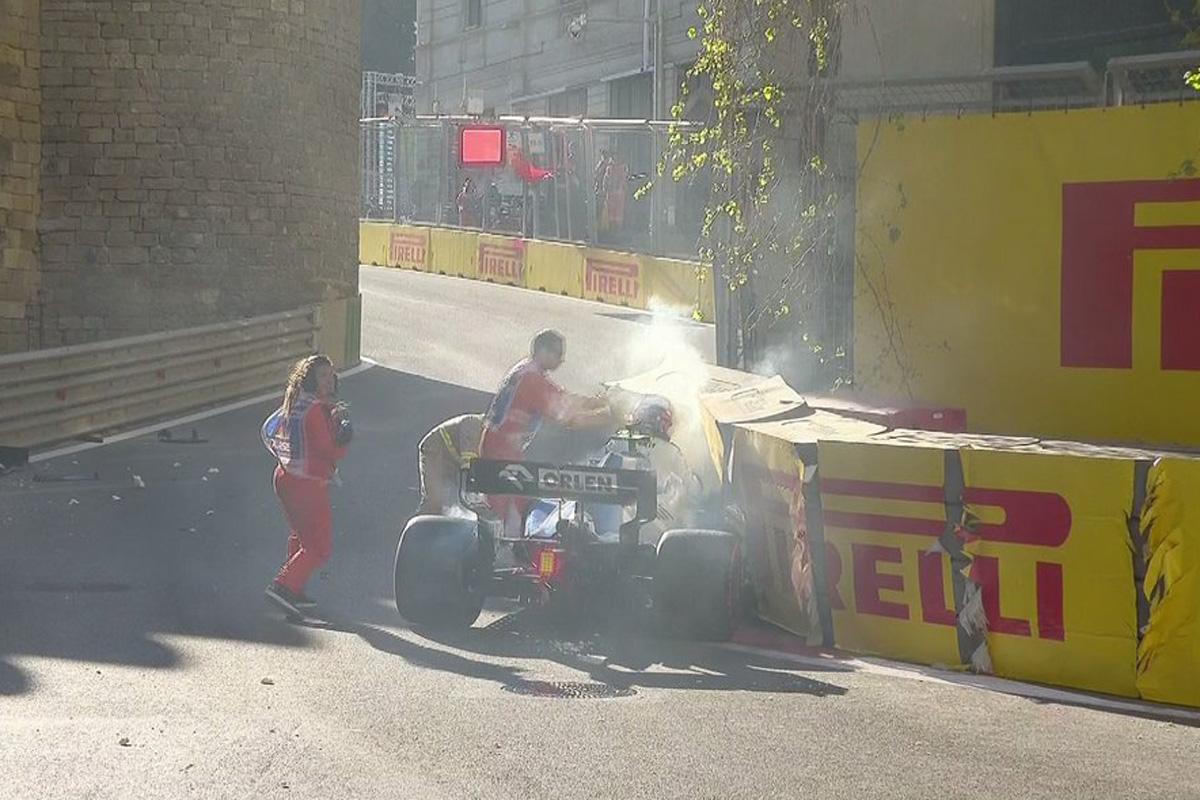 F1 アゼルバイジャンGP 予選Q1