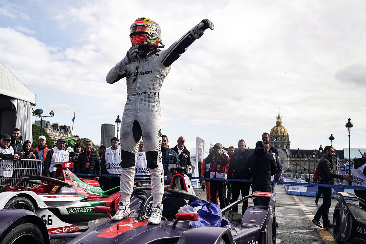 フォーミュラE パリePrix ロビン・フラインス