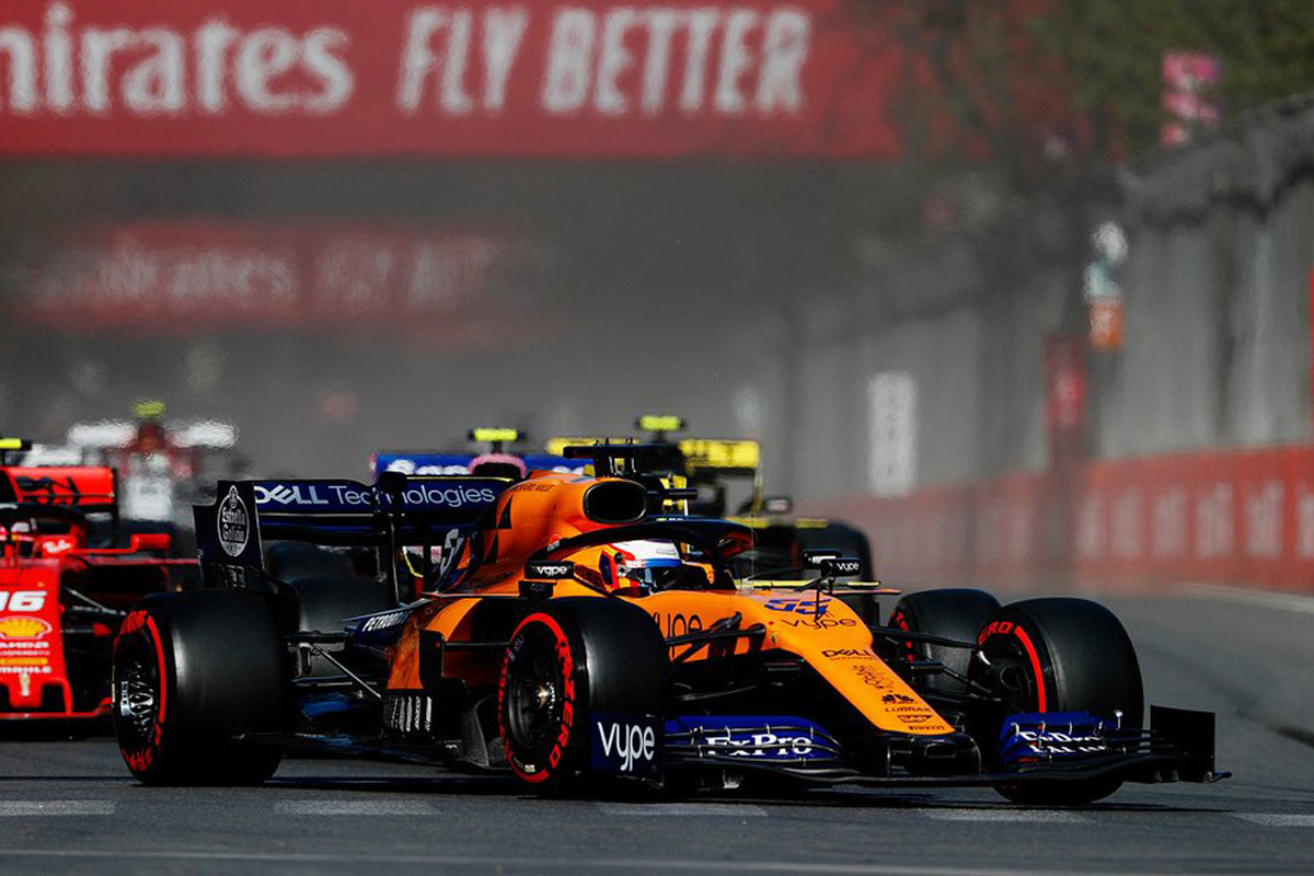 F1 カルロス・サインツJr. マクラーレン