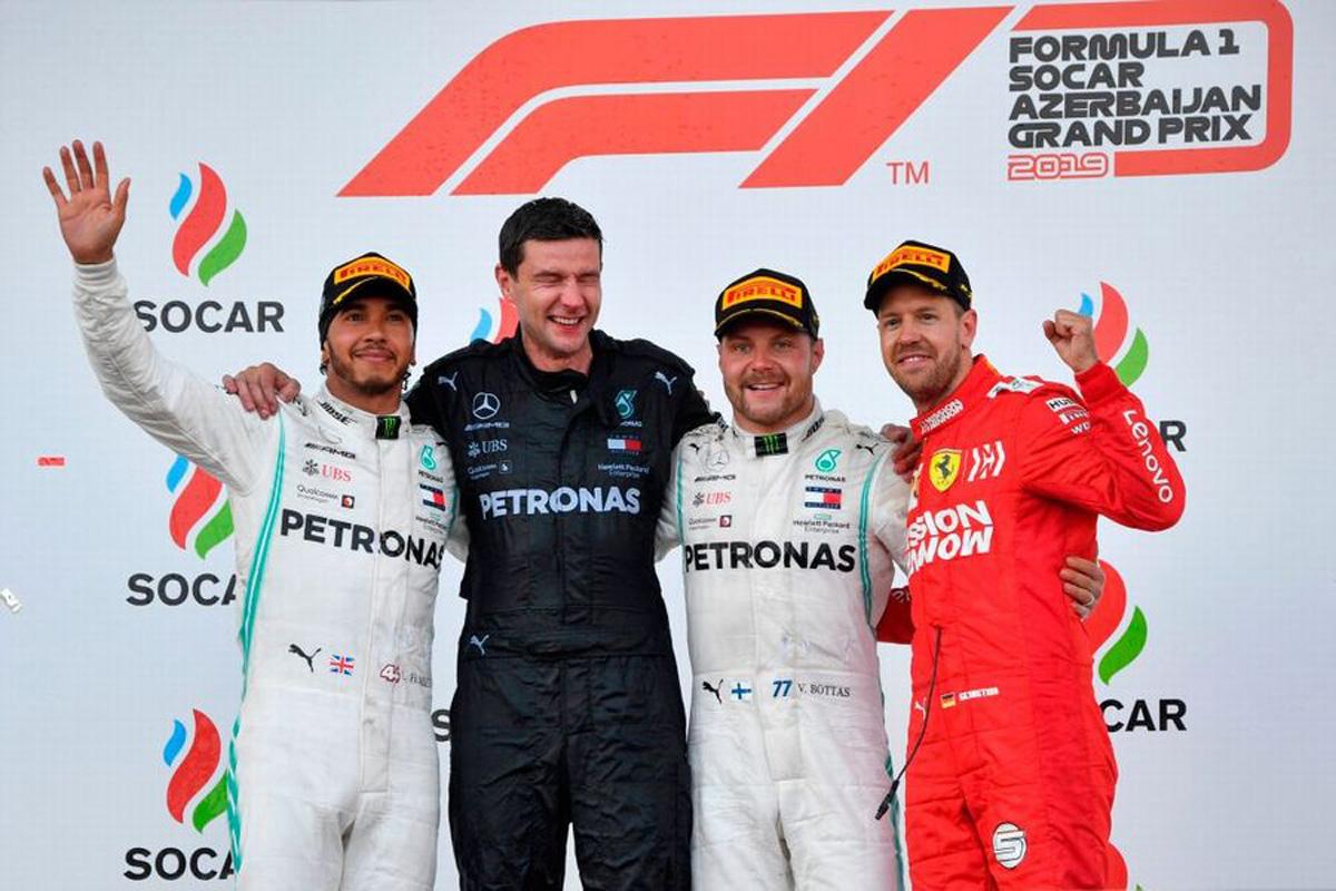 F1 アゼルバイジャンGP 決勝