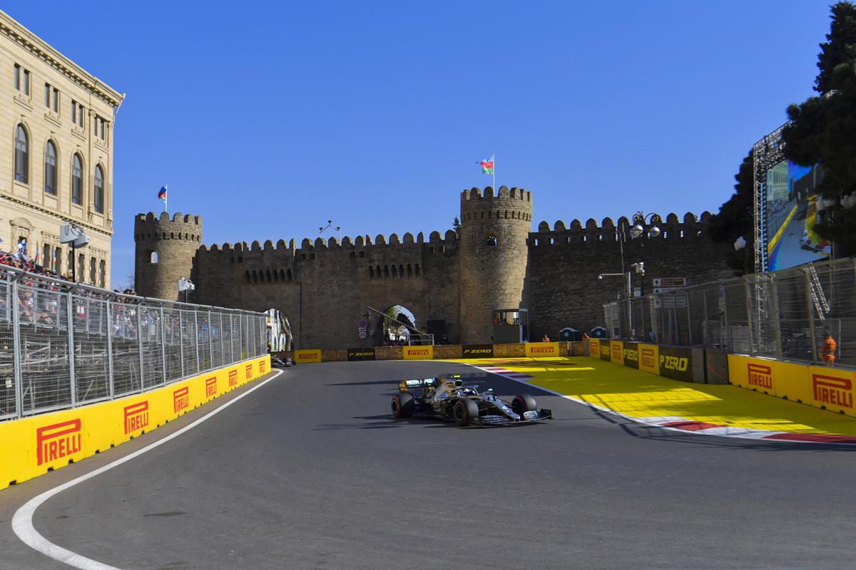 F1 ピレリ アゼルバイジャンGP