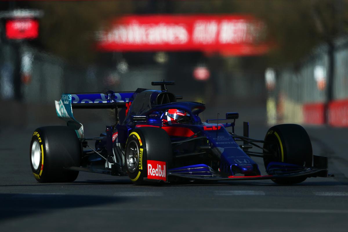 F1 トロロッソ・ホンダ アゼルバイジャンGP