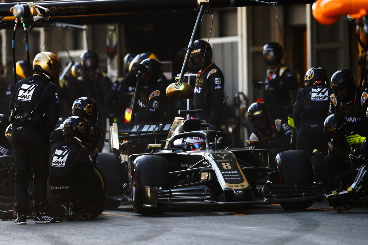 F1 ハースF1チーム アゼルバイジャンGP