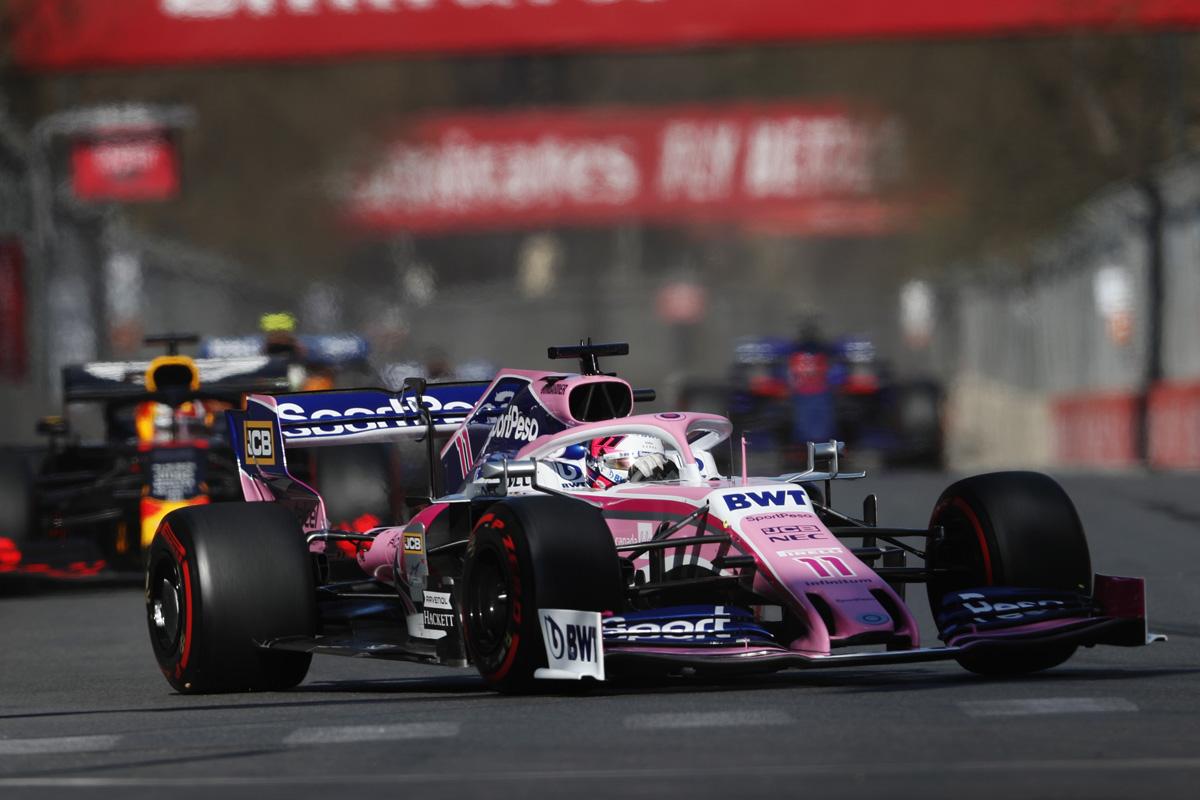 F1 レーシングポイント アゼルバイジャンGP