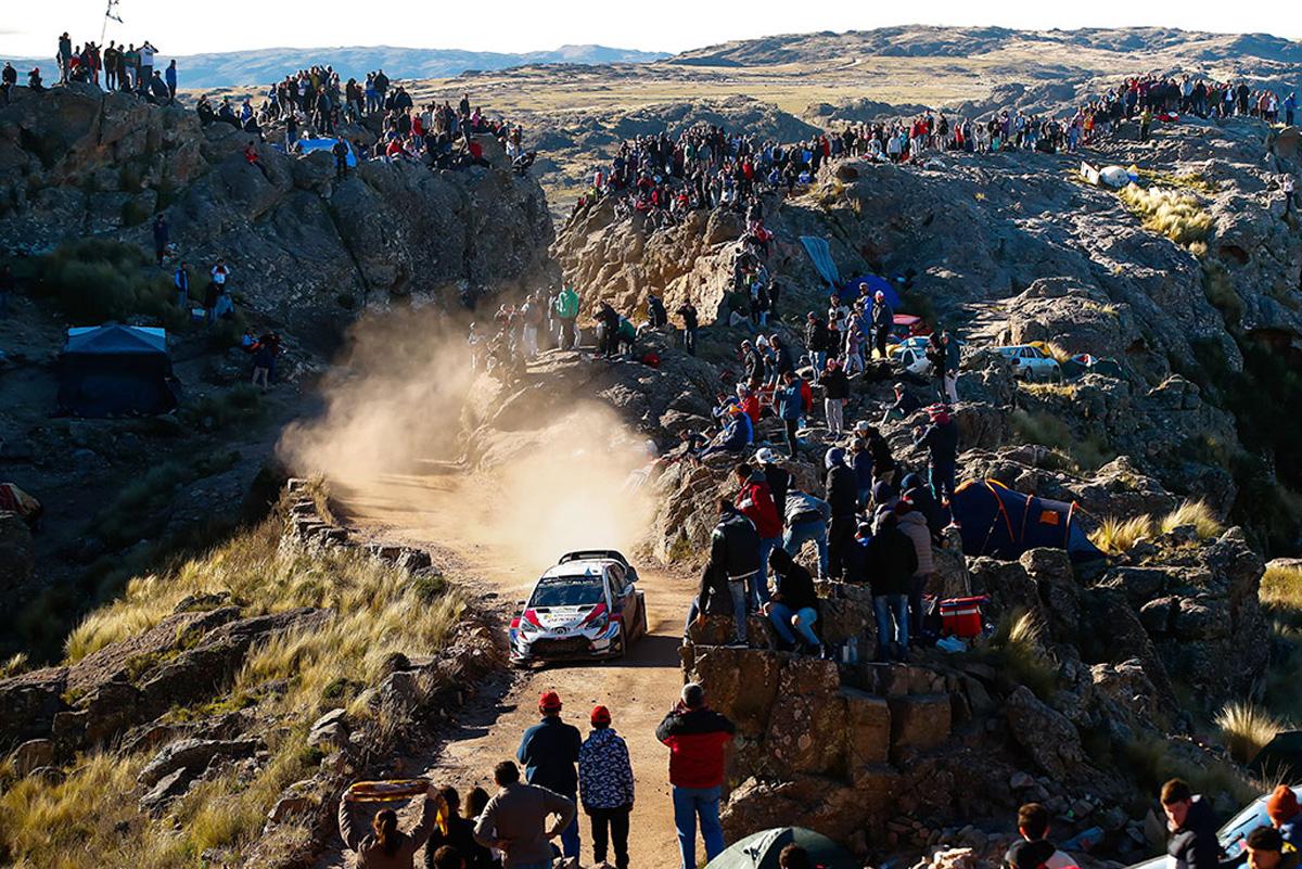 WRC トヨタ ラリー・アルゼンティーナ
