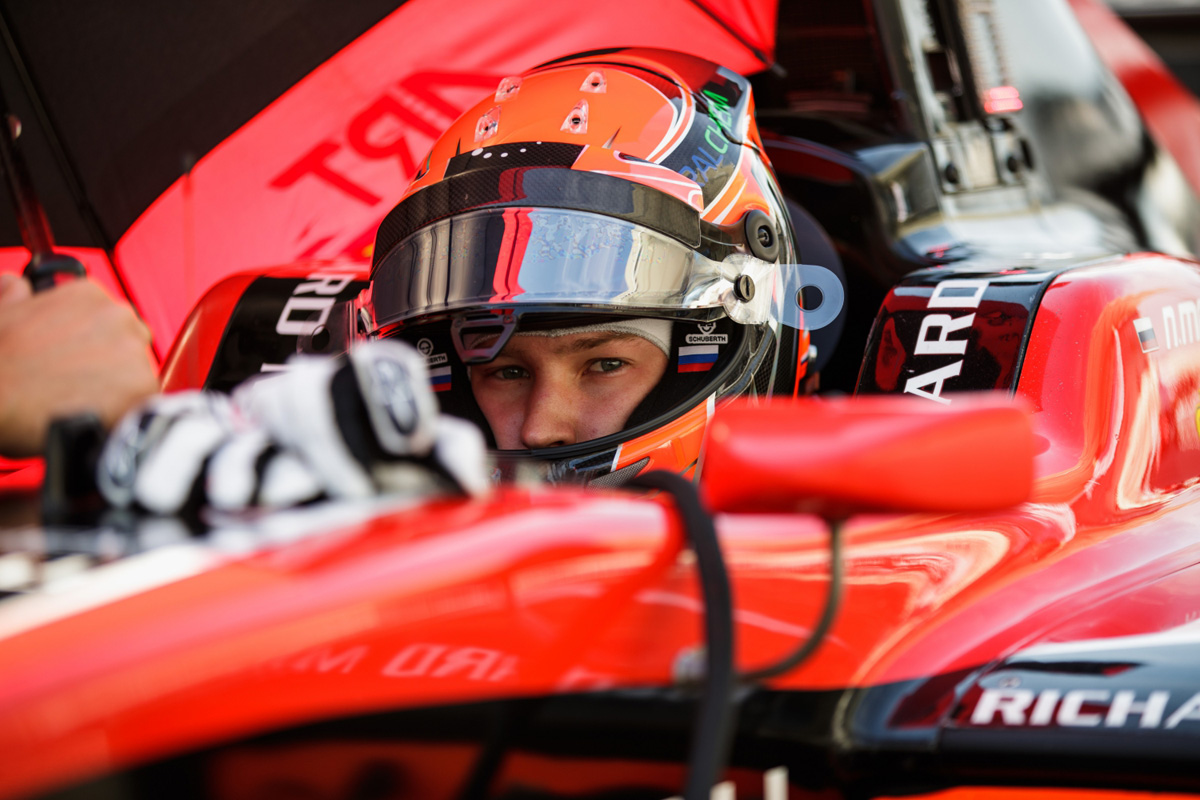 F1 ウィリアムズF1 ニキータ・マゼピン