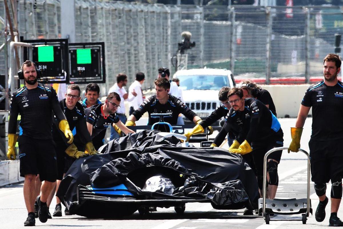 F1 ウィリアムズF1 アゼルバイジャンGP