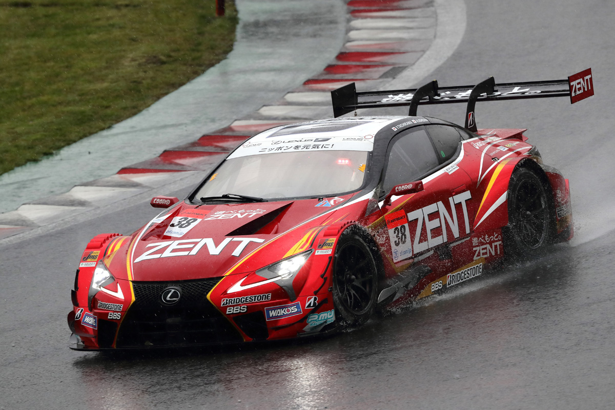 SUPER GT レクサス 富士スピードウェイ