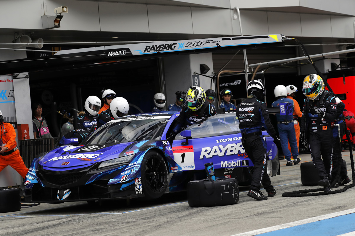 F1 ジェンソン・バトン SUPER GT