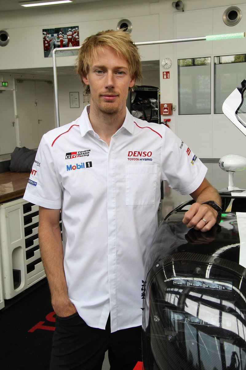 Brendon Hartley トヨタ・TS050 HYBRID