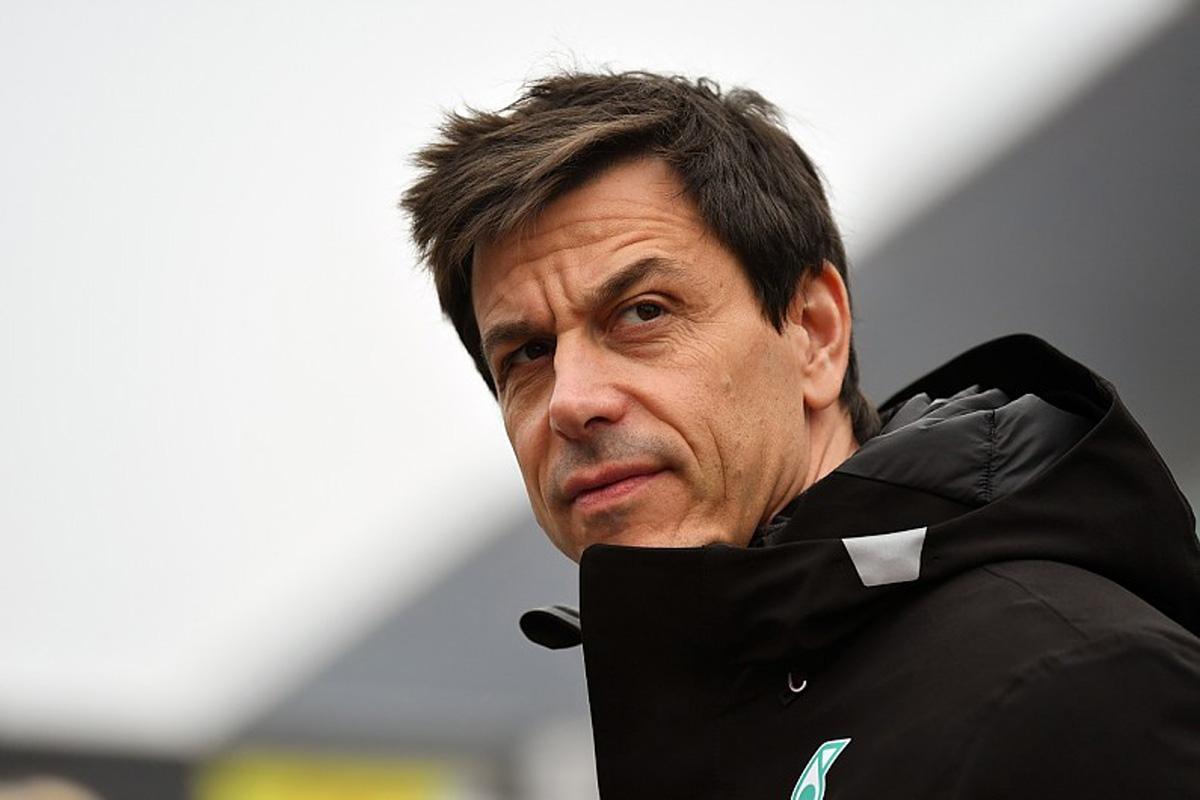 F1 メルセデス トト・ヴォルフ