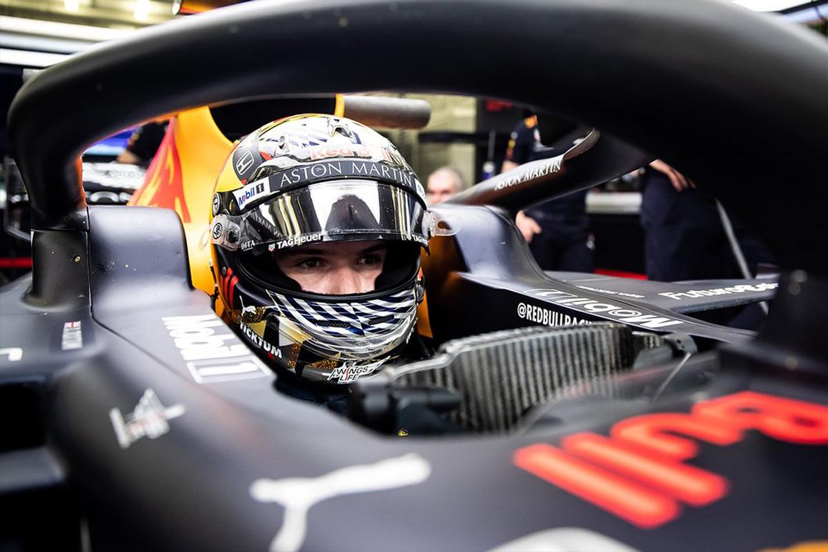 F1 レッドブル・ホンダ ダニエル・ティクトゥム