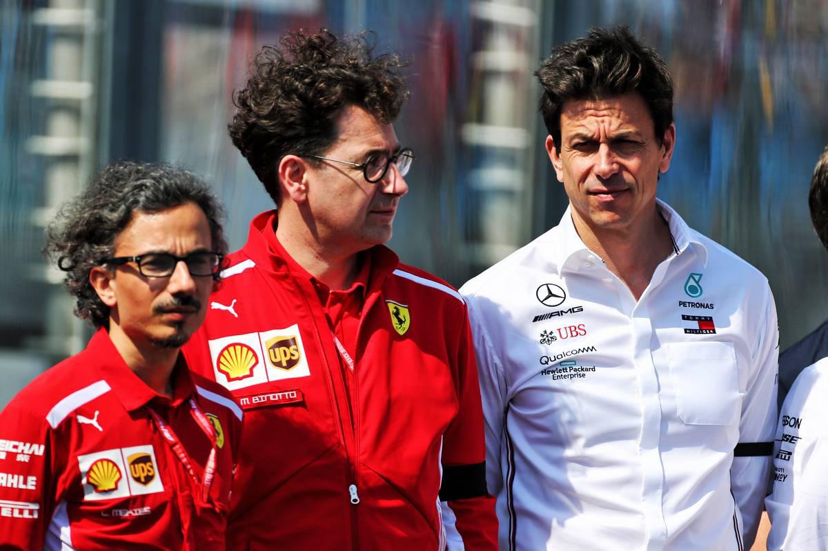 F1 フェラーリ トト・ヴォルフ