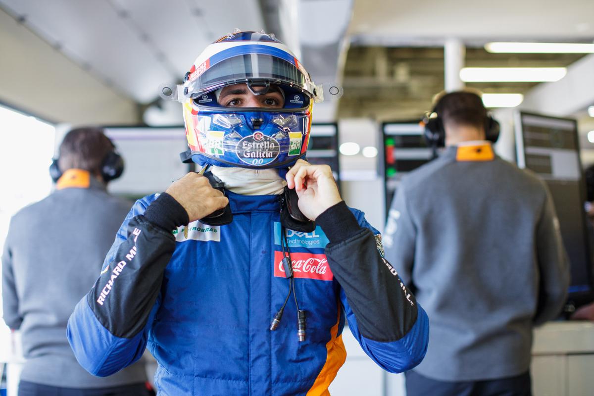F1 カルロス・サインツJr. リバプール