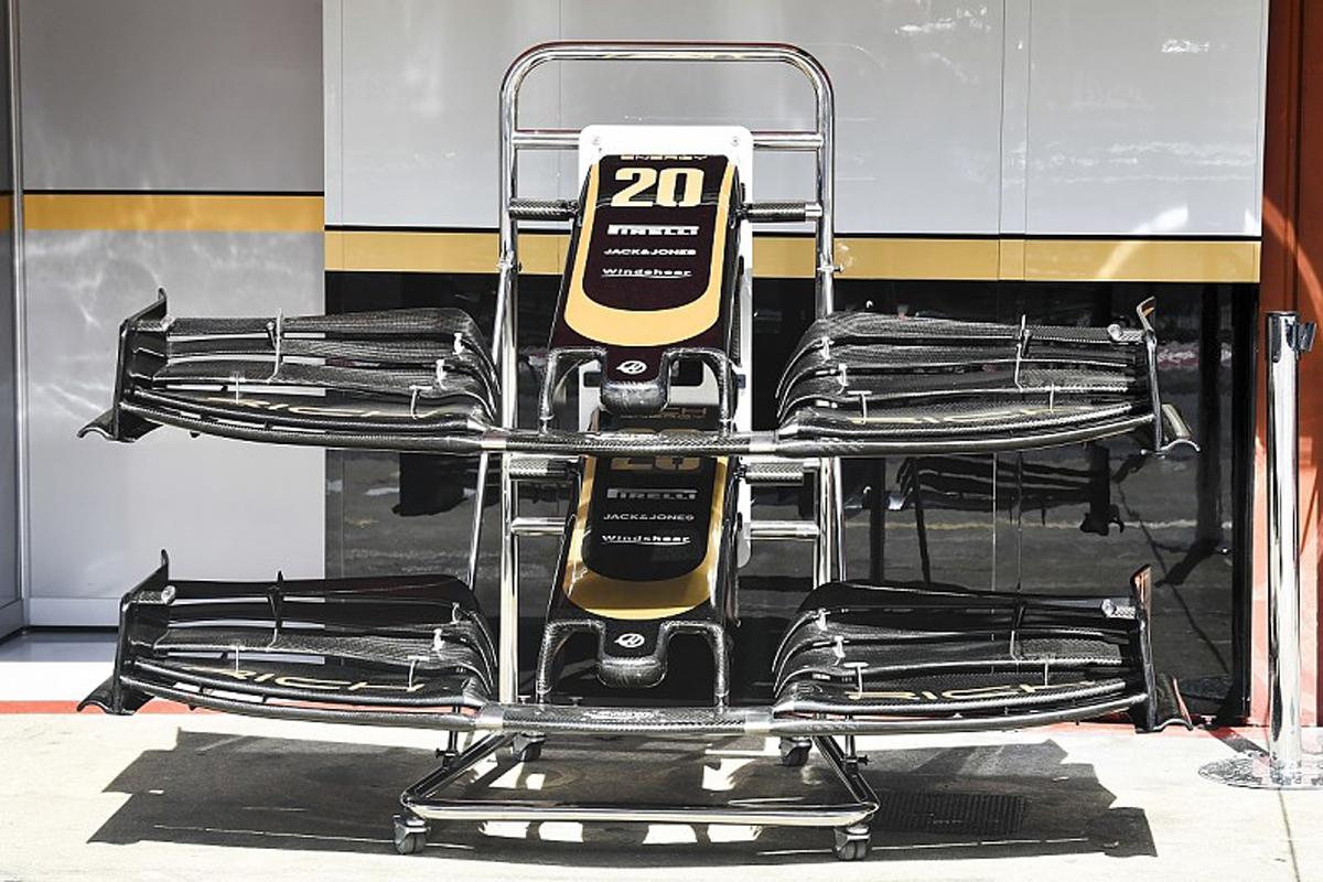 F1 ハースF1チーム スペインGP