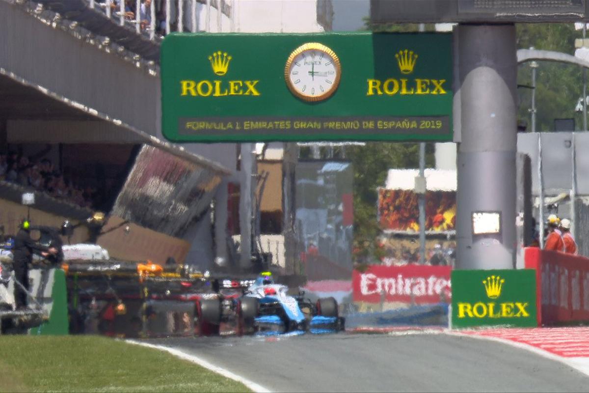 F1スペインGP 予選Q1 結果