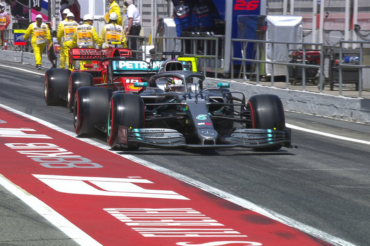 F1スペインGP 予選Q2 結果