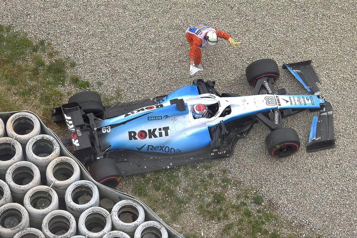 F1 ジョージj・ラッセル ウィリアムズF1