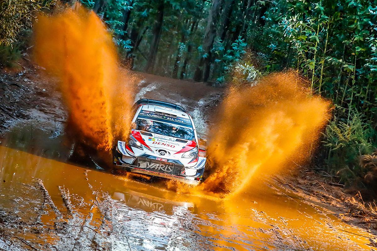 WRC トヨタ ラリー・チリ