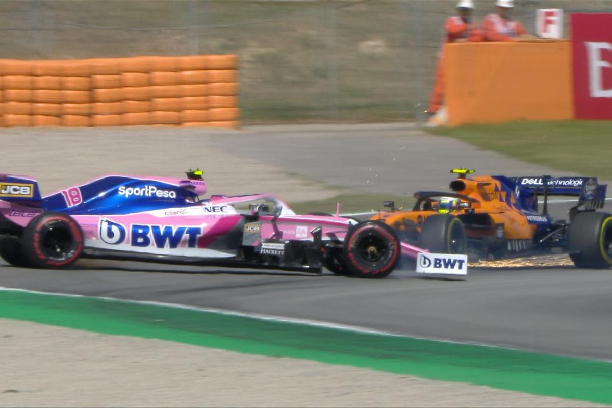 F1スペインGP ランド・ノリス ランス・ストロール